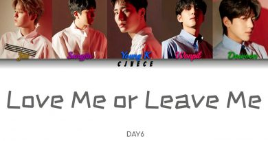 DAY6 - Love me or Leave me