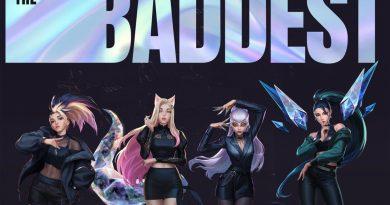 K/DA, (G)I-DLE, Wolftyla, Bea Miller, League of Legends - THE BADDEST