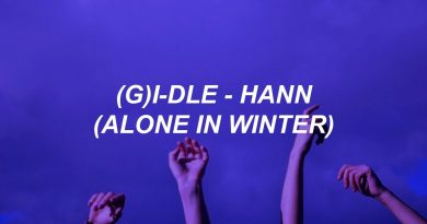 """(G)I-DLE - """"HANN"""" (Alone in winter)"""