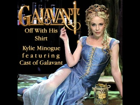Cast of Galavant, Kylie Minogue - Off with His Shirt из сериала «Галавант»